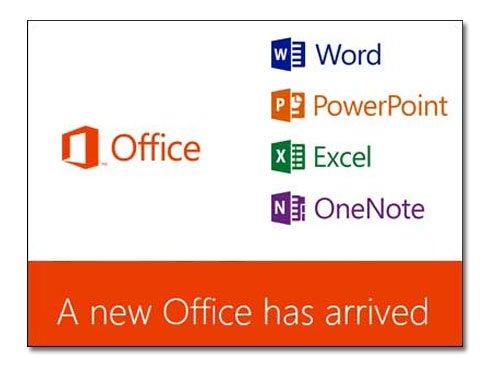 Microsoft lance Office 2013