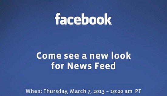 Facebook montrera son nouveau visage le 7 mars