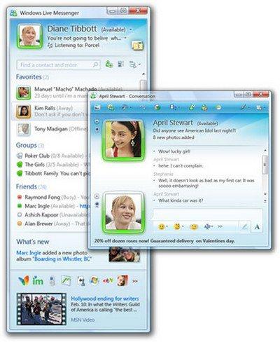 MSN Messenger, c'est fini!