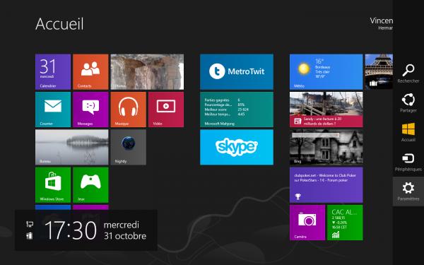Le bureau et le bouton Démarrer de retour sur Windows Blue ?
