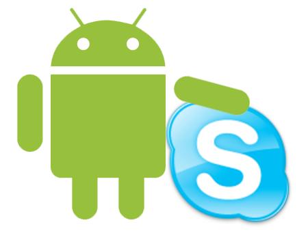 Skype sur Android : version rénovée et 100 millions de téléchargements
