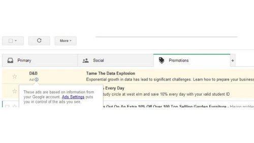 Google envoie désormais du spam sur votre adresse de messagerie