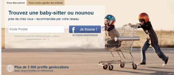 'Facebook pour baby-sitters' démarre en Belgique