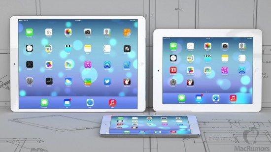 Après l'iPad Mini, une version Maxi ?