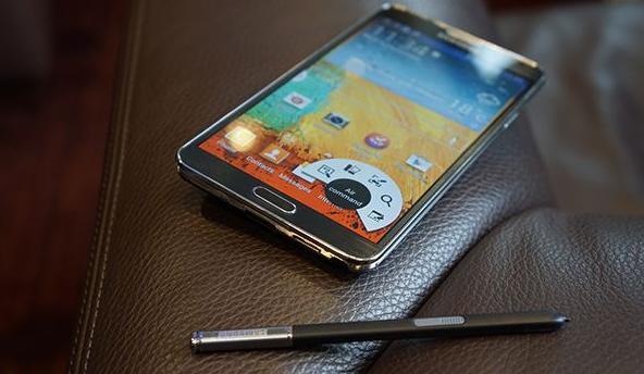 Samsung Galaxy Note 3 : écran de 5,7 pouces et 8,3 mm d'épaisseur