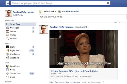 Les GIFs désormais disponibles sur Facebook