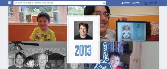 Facebook vous propose de faire votre bilan de 2013