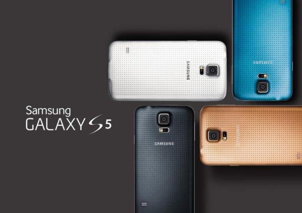 Samsung Galaxy S5 enfin dévoilé au MWC 2014