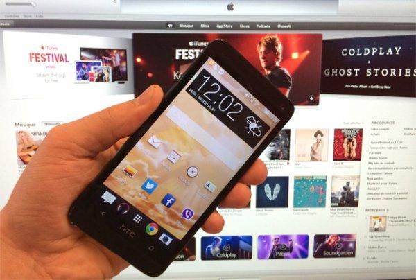 L'iTunes Store bientôt accessible aux appareils sous Android ?