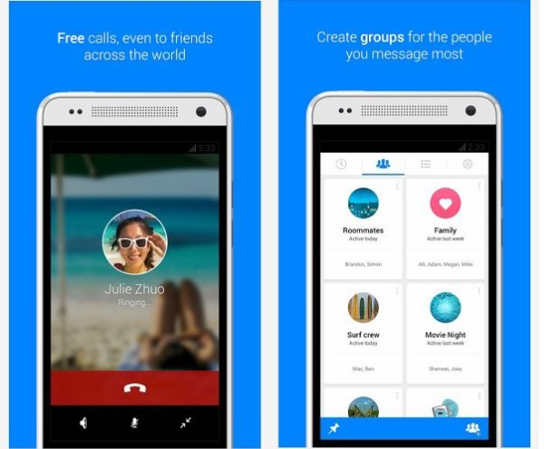 Facebook Messenger propose maintenant les appels vers vos contacts Facebook