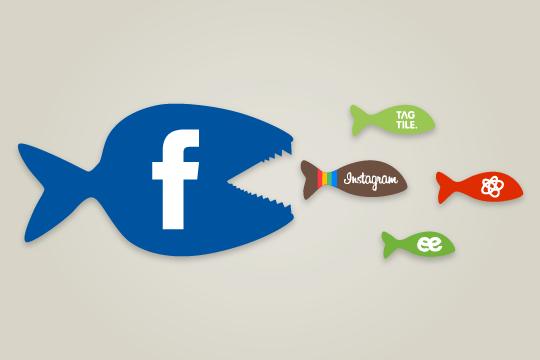 Facebook: Les dernières acquisitions phares