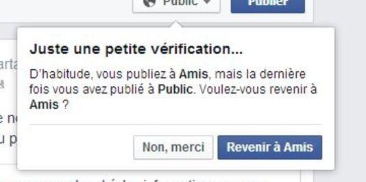 Facebook propose à ses membres de revoir leurs paramètres de confidentialité
