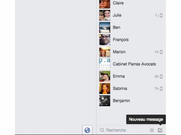 Maîtriser la messagerie de Facebook
