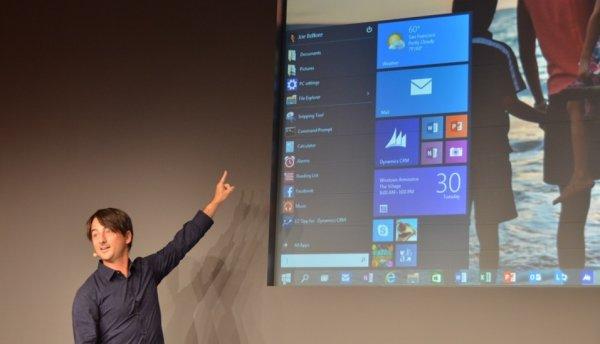 Microsoft dévoile Windows 10, le véritable successeur de Windows 7