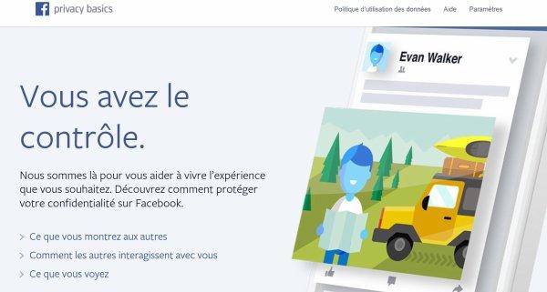 Facebook simplifie ses règles de confidentialité