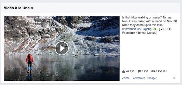 Facebook s'inspire de YouTube pour l'affichage des vidéos