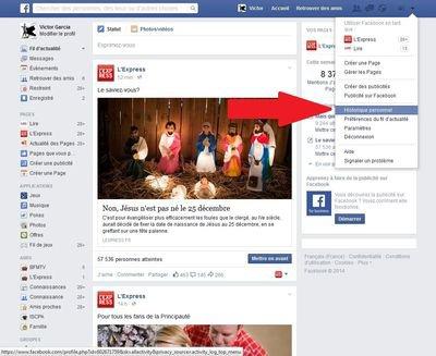 Facebook: en cette fin d'année, il est temps d'effacer votre historique personnel