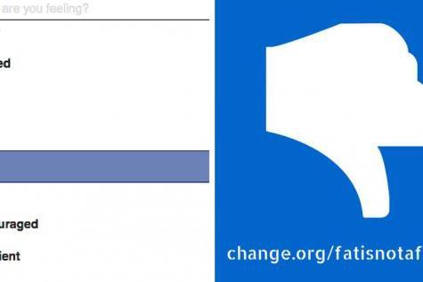 L'émoticône «se sentir gros» sur Facebook suscite la controverse