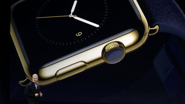 Apple voit grand avec l'Apple Watch