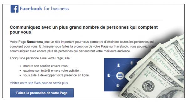 Facebook: L'intérêt n'est plus que vous partagiez ce que vous aimez