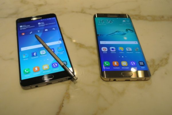 Samsung lance les Galaxy Note 5 et Galaxy S6 Edge+