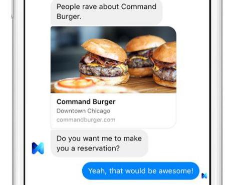 M : l'assistant personnel de Facebook pour Messenger