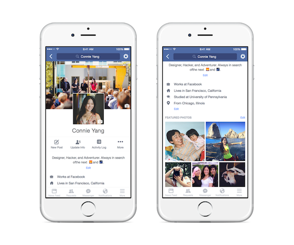 Facebook : voici à quoi ressemblera bientôt votre profil