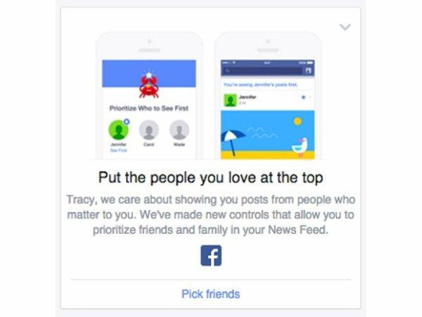 Facebook: Du neuf sur votre compte