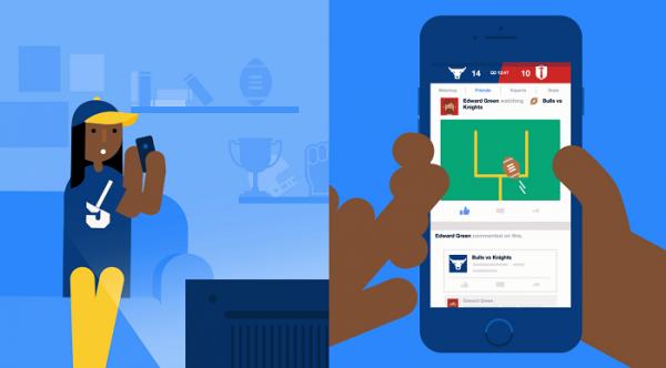 Facebook lance une plateforme dédiée aux sports