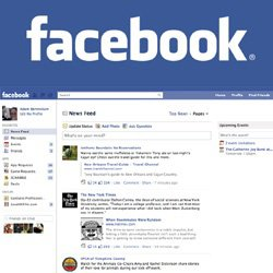 Facebook modifie (encore) son fil d'actualité