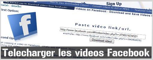 Facebook : Comment télécharger une vidéo sans logiciel ?
