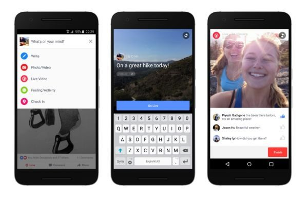 Facebook poursuit son offensive dans la vidéo mobile en direct