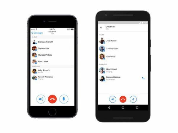 Facebook Messenger se lance dans les appels groupés
