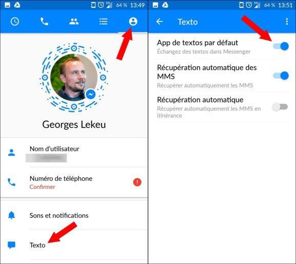Vos SMS dans Facebook Messenger : comment refuser cette intrusion