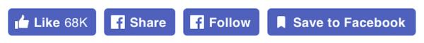 Le bouton like de Facebook vient de changer de look