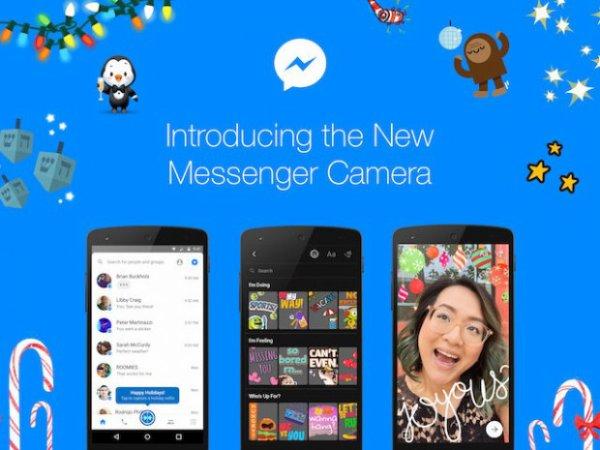 Facebook Messenger place le selfie au coeur de l'expérience