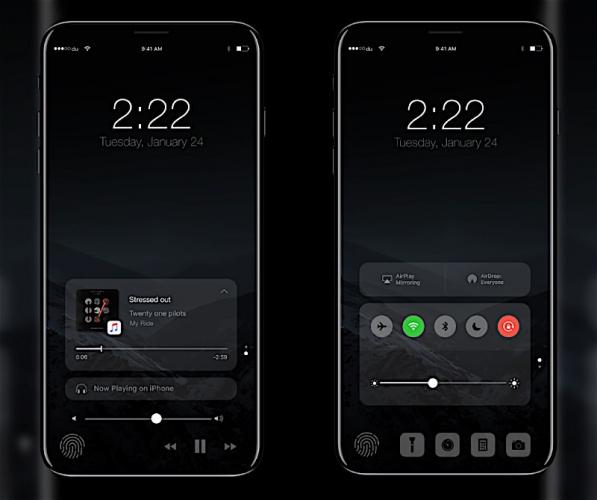 iPhone 8 : voici à quoi pourrait ressembler l'interface