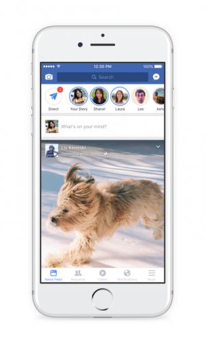 Facebook: Les stories débarquent