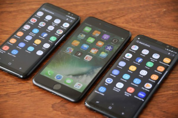 iPhone 7 contre Galaxy S8 : le match