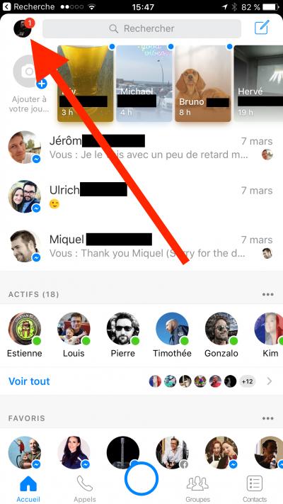 Facebook Messenger, pensez à activer le chiffrement de bout en bout