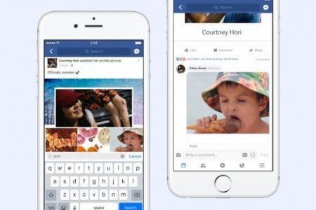 Facebook: Les GIFs débarquent dans les commentaires