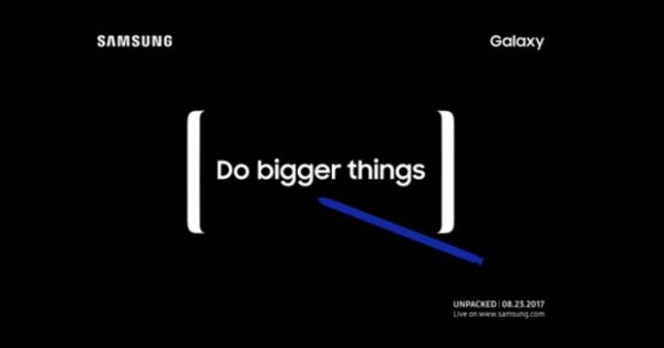 Samsung dévoilera son Galaxy Note 8 le 23 août prochain