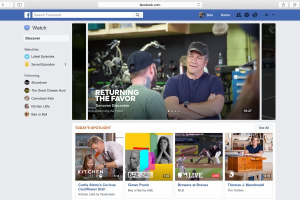 Facebook veut concurrencer YouTube avec Watch