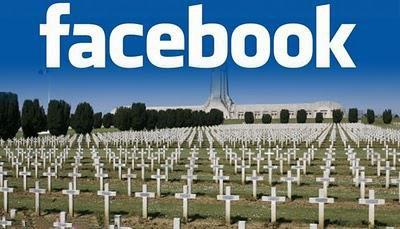 Facebook: De plus en plus de tombes virtuelles