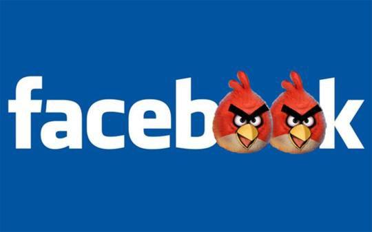 Facebook : les Jeux pour Messenger accueilleront Angry Brids et Sonic