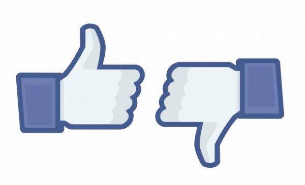 """Facebook teste l'équivalent d'un bouton """"Je n'aime pas"""""""
