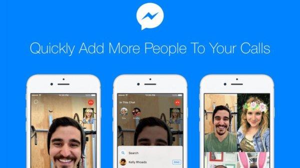 Facebook Messenger permet d'ajouter plusieurs contacts aux conversations vidéo