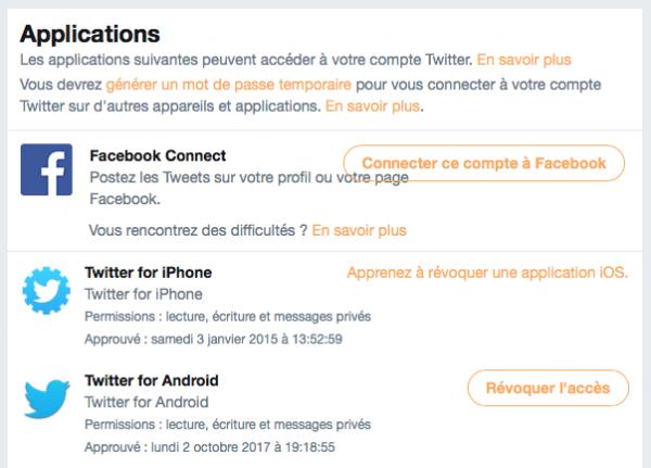 Facebook, Twitter… : vérifiez quels services ont accès à vos données