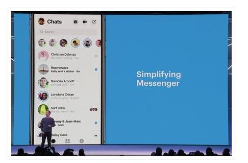 Facebook: Une refonte du design de Messenger arrivera très prochainement