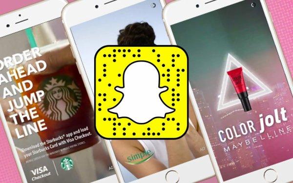 Snapchat lance les premières publicités impossibles à zapper !